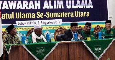 Ketum PBNU hadiri Rakor dan Musyawarah Alim Ulama NU se-Sumut